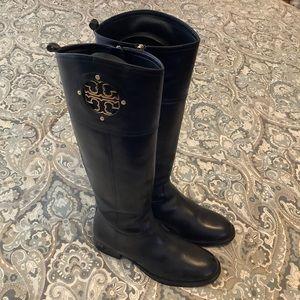 EUC Tory Burch Kiernan Tall Leather Riding Boots